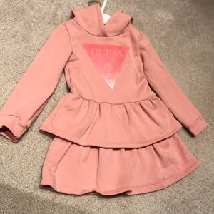 Like New**GUESS 3T Hooded Dress